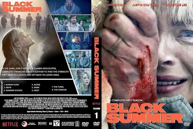 dvd cover Black Summer Season 1 DVD Cover