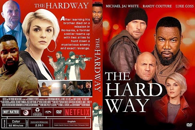 dvd cover The Hard Way DVD Cover