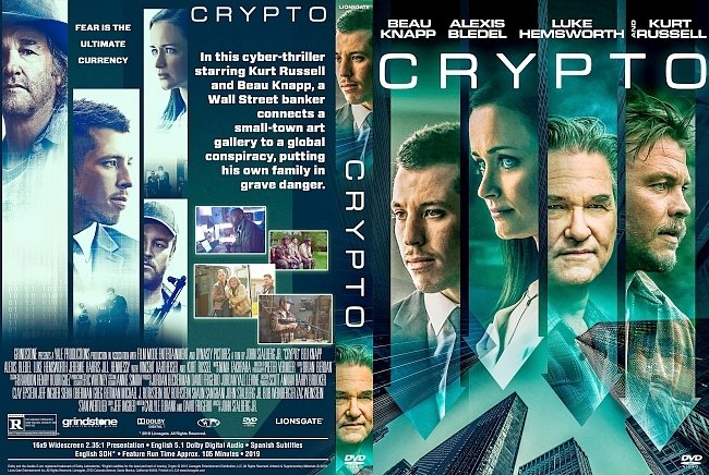 dvd cover Crypto DVD Cover