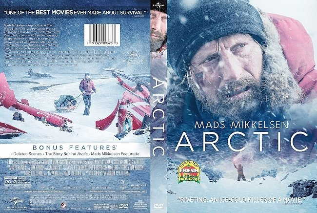 dvd cover Arctic DVD Cover