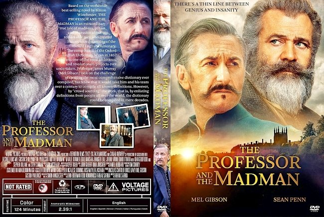 dvd cover The Professor and the Madman DVD Cover
