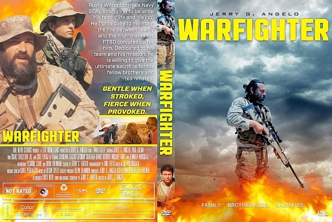 dvd cover Warfighter DVD Cover