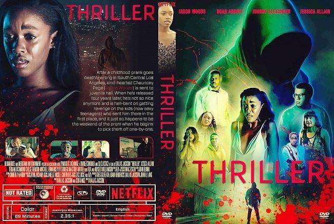 dvd cover Thriller DVD Cover