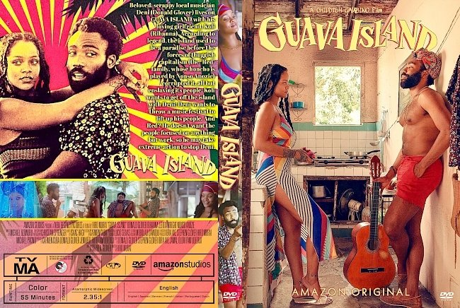dvd cover Guava Island DVD Cover