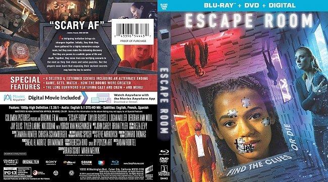 dvd cover Escape Room Bluray Cover
