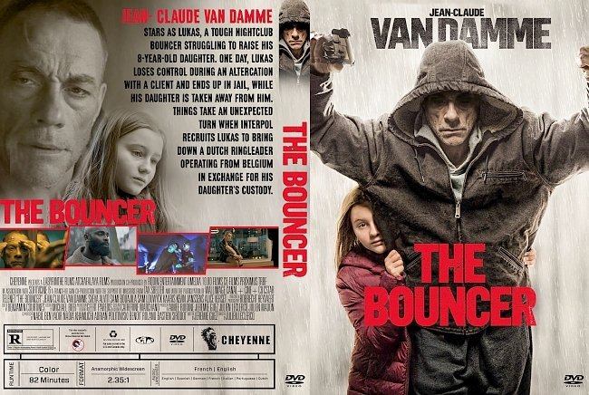 dvd cover The Bouncer DVD Cover