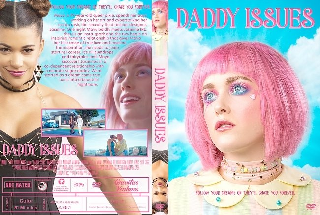 dvd cover Daddy Issues DVD Cover