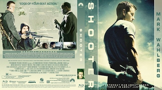 dvd cover Shooter Bluray Cover