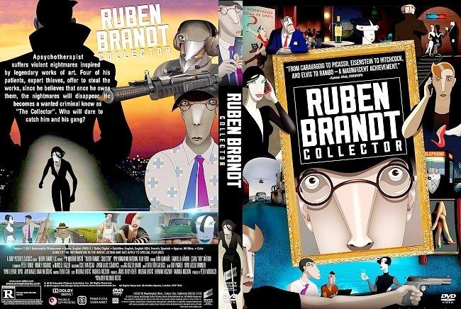 dvd cover Ruben Brandt, Collector DVD Cover