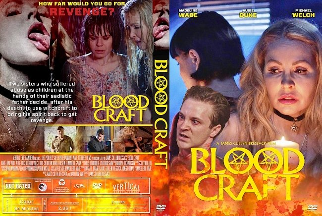 dvd cover Blood Craft DVD Cover