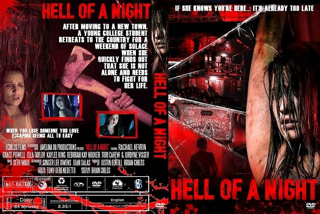 dvd cover Hell of a Night DVD Cover