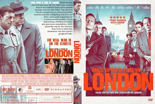 dvd cover Once Upon a Time in London DVD Cover