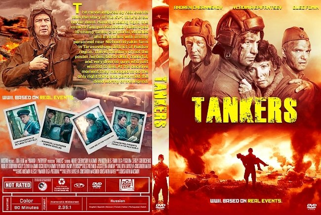 dvd cover Tankers DVD Cover