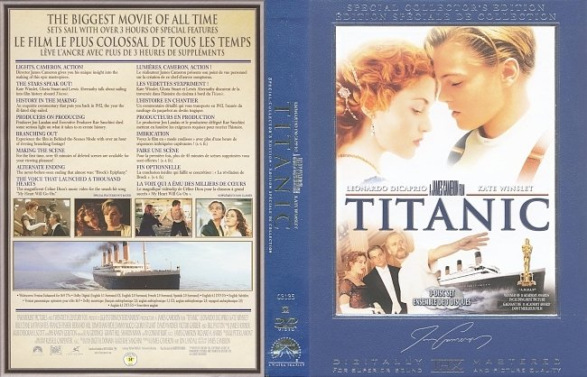 dvd cover Titanic (Three-Disc Special Collector's Edition) (1997) DVD Cover