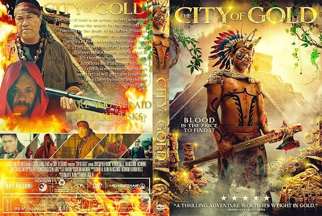 dvd cover City of Gold DVD Cover