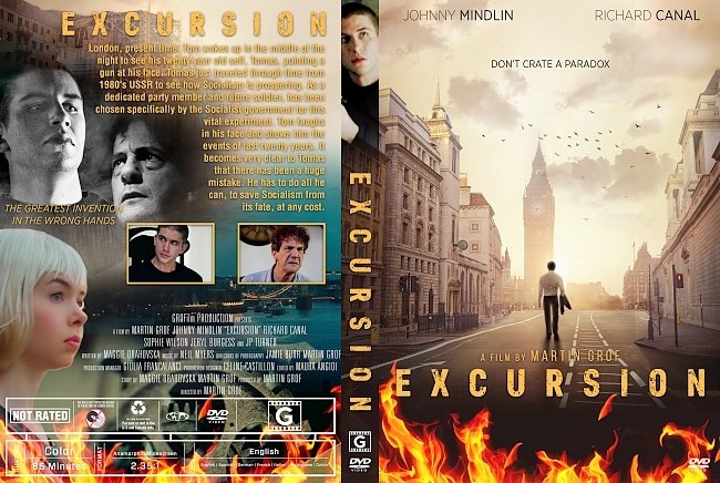dvd cover Excursion DVD Cover