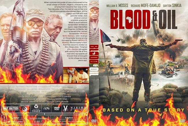 dvd cover Blood & Oil DVD Cover