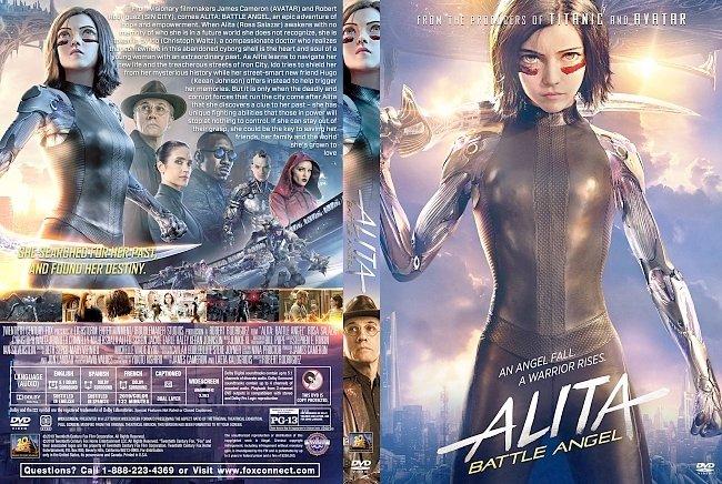 dvd cover Alita: Battle Angel DVD Cover