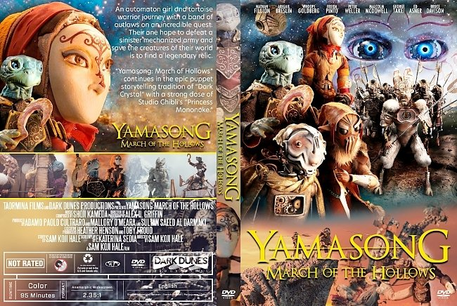 dvd cover Yamasong: March of the Hollows DVD Cover