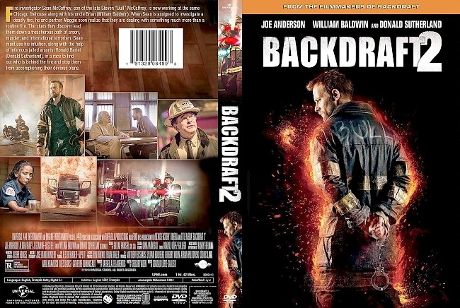 dvd cover Backdraft 2 DVD Cover