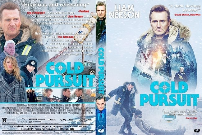 dvd cover Cold Pursuit DVD Cover