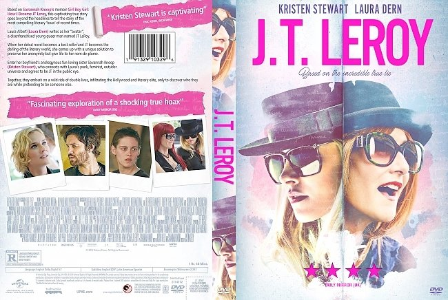 dvd cover JT LeRoy (Jeremiah Terminator LeRoy) DVD Cover