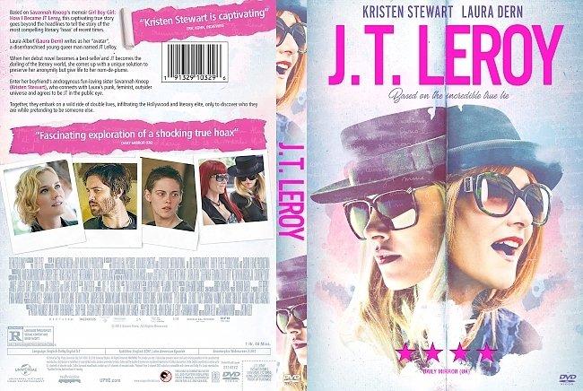 dvd cover JT LeRoy (Jeremiah Terminator LeRoy) DVD Cover