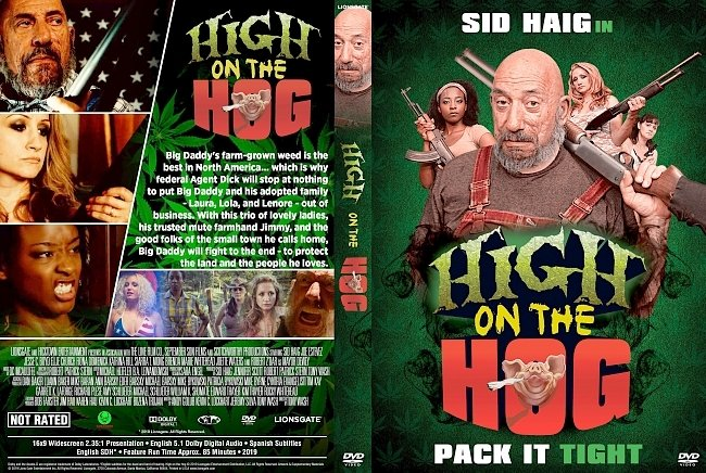 dvd cover High On The Hog DVD Cover