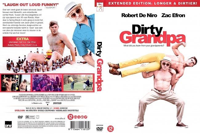 dvd cover Dirty Grandpa (Dutch) DVD Cover