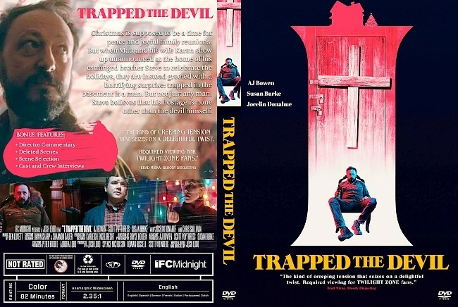 dvd cover I Trapped the Devil DVD Cover