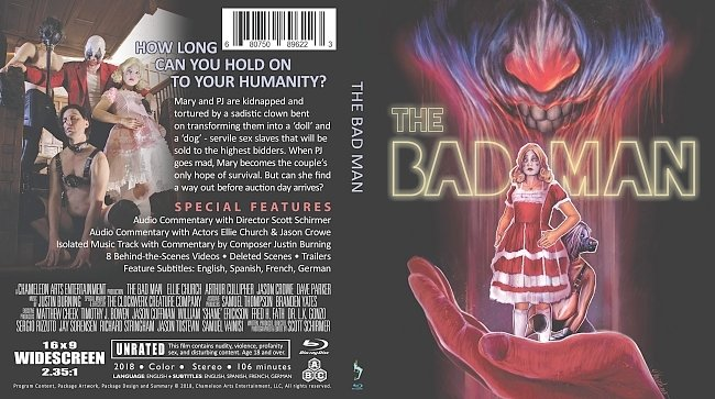 dvd cover The Bad Man Bluray Cover
