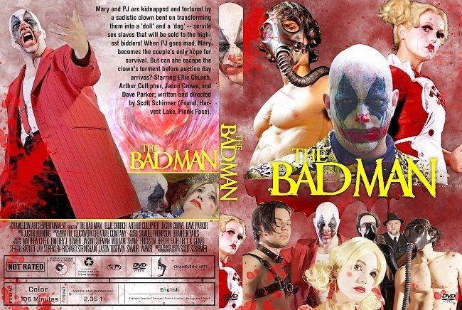 dvd cover The Bad Man DVD Cover