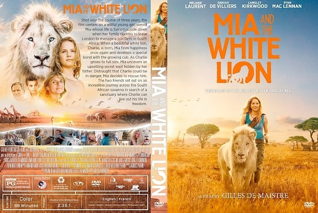 dvd cover Mia And The White Lion DVD Cover