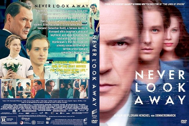 dvd cover Never Look Away (Werk ohne Autor) DVD Cover