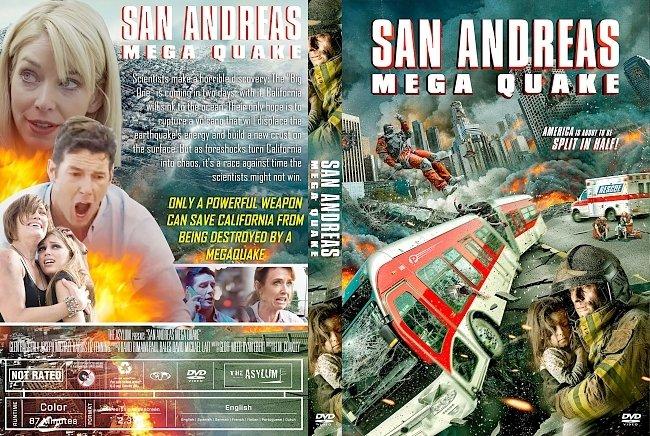 dvd cover San Andreas Mega Quake DVD Cover