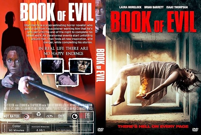 dvd cover Book Of Evil DVD Cover