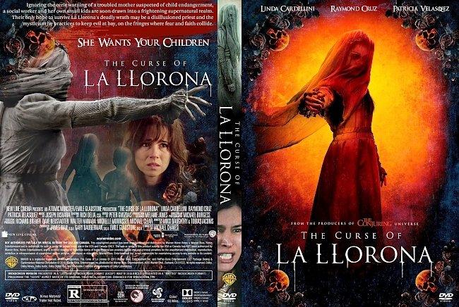 dvd cover The Curse of La Llorona DVD Cover