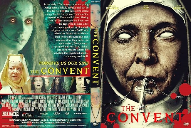 dvd cover The Convent DVD Cover