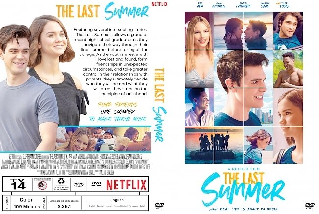 dvd cover The Last Summer DVD Cover