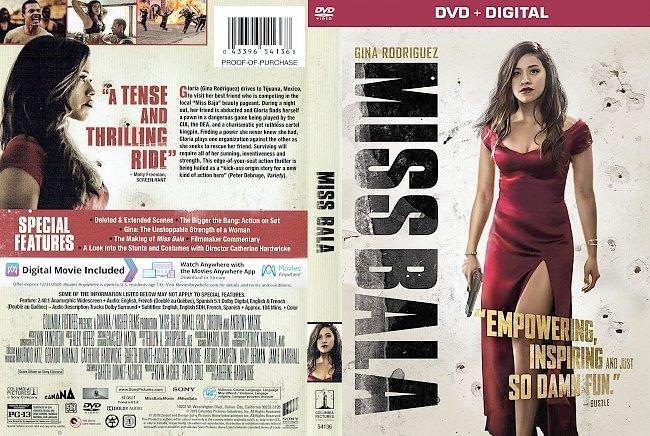 dvd cover Miss Bala DVD Cover