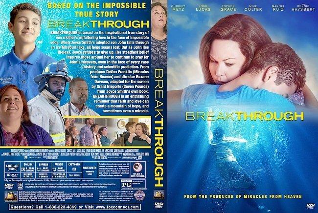 dvd cover Breakthrough DVD Cover