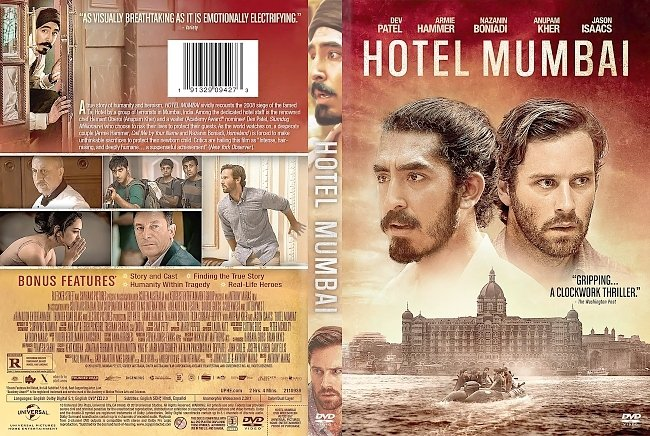 dvd cover Hotel Mumbai DVD Cover