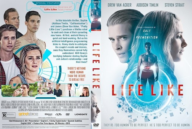 dvd cover Life Like DVD Cover