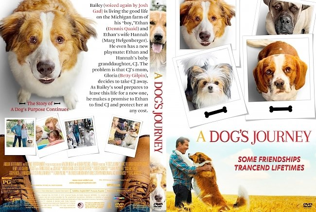 dvd cover A Dog's Jouney DVD Cover