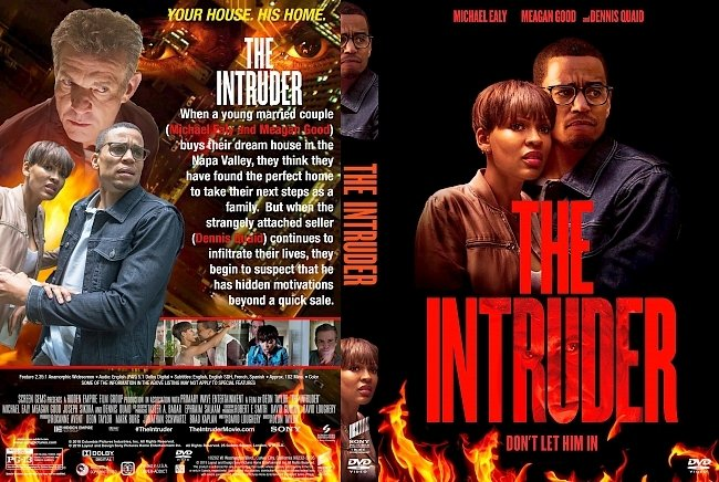 dvd cover The Intruder DVD Cover