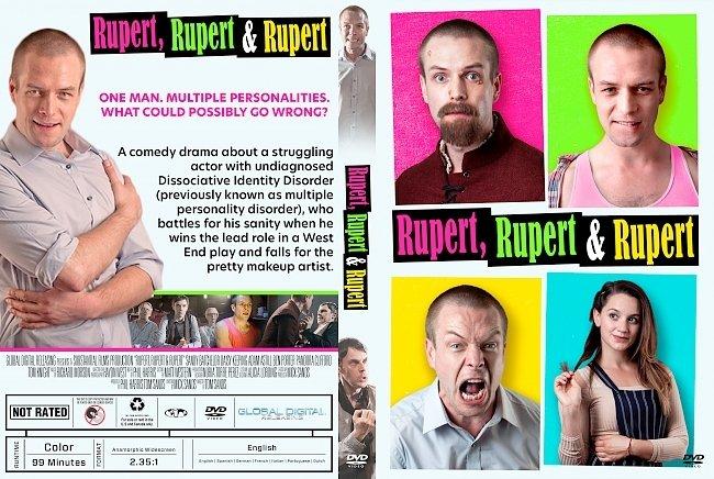 dvd cover Rupert, Rupert & Rupert DVD Cover