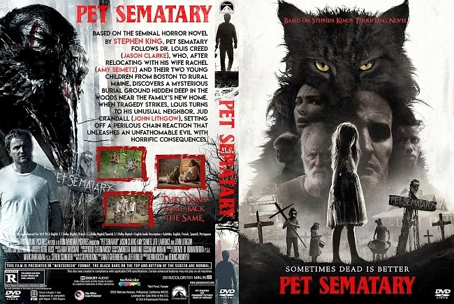 dvd cover Pet Sematary DVD Cover