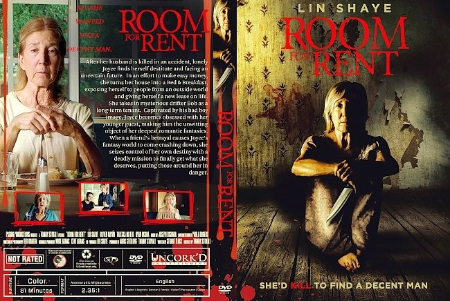 dvd cover Room for Rent DVD Cover