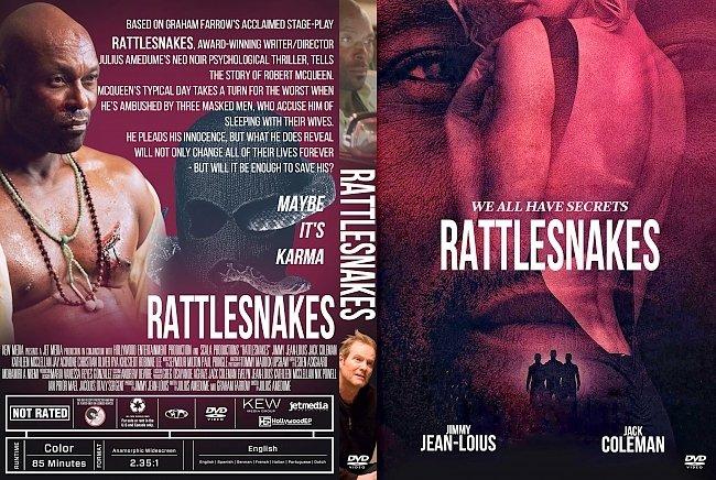 dvd cover Rattlesnakes DVD Cover
