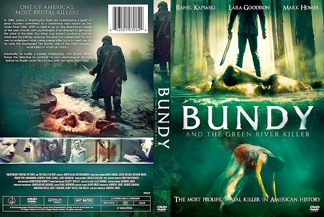 dvd cover Bundy and the Green River Killer DVD Cover